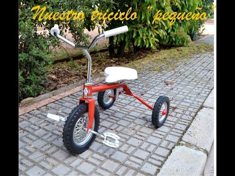 Triciclo pequeño clásico años 70