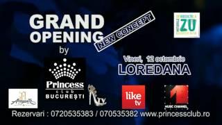 Concert LOREDANA  PRINCESS CLUB BUCURESTI