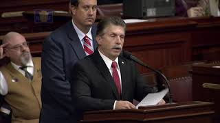 Rep. Dave Maloney Calls for Rare Moment of Silence on House Floor to Honor Racer Greg Hodnett