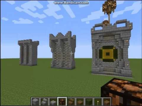 Medieval Wall Designs Minecraft Project