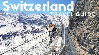 SCHILTHORN Travel Guide: The BEST view in Switzerland ❤️ Paragliding in Interlaken