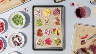 Intensely Fruit-Flavored Holiday Shortbread Cookies