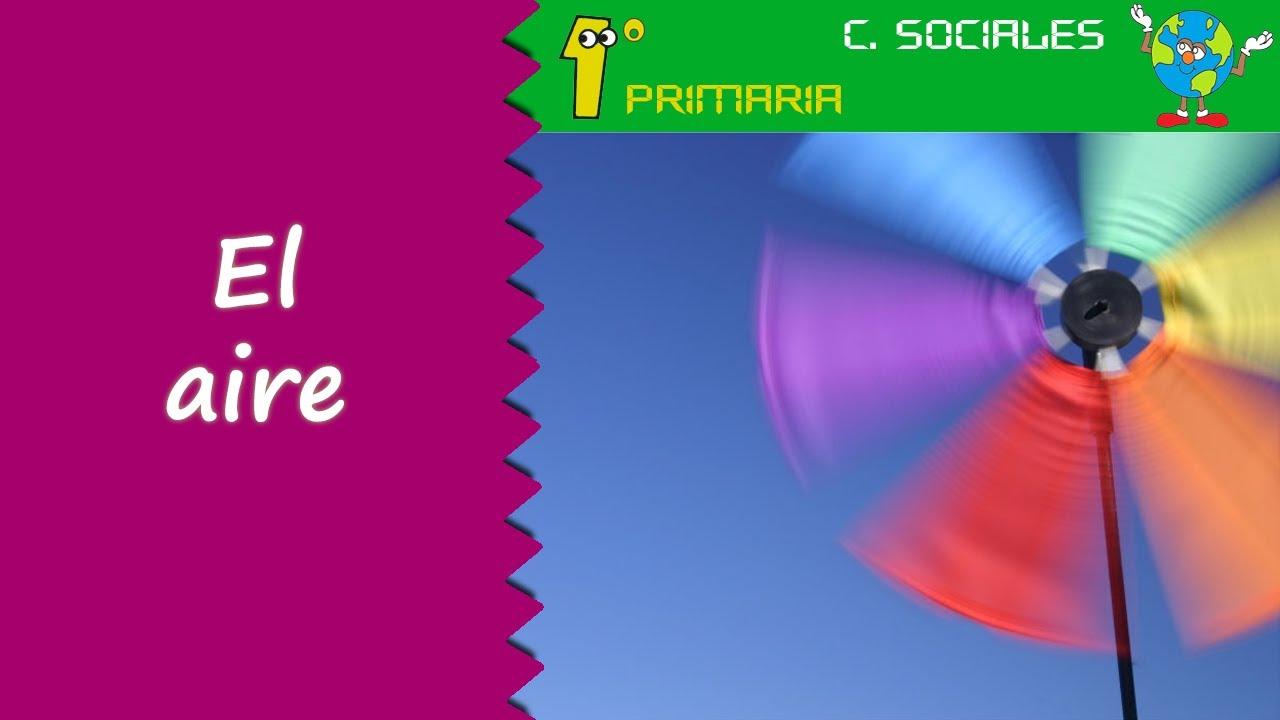 Ciencias Sociales. 1º Primaria. Tema 6: El aire