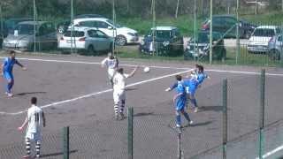 preview picture of video 'Sant'Angelo Romano Vs CLC 0-2: I Gol Del Match'