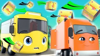 Buster and The Boxes | Go Buster | +More Nursery Rhymes and Baby Songs |Kids Songs | Little Baby Bum