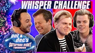 The Whisper Challenge | Ant & Dec v NikiNSammy
