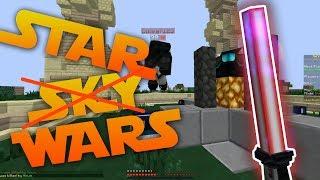 MINECRAFT STAR WARS TEXTURE PACK CHALLENGE! (Hypixel Skywars)