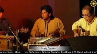 बहुत प्यार करते हैं तुमको सनम    Live Performance by Satyam Anandjee Full HD 1080p