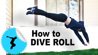 How to Dive Roll - Parkour Tutorial @Camp Woodward - Tapp Brothers