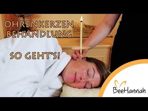 Ohrenkerzenbehandlung mit Anleitung! Ohrenkerzen Anwendung, Ohrkerzen Wirkung & Ergebnis