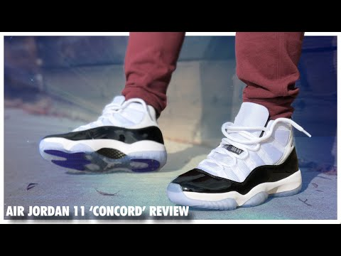 Air Jordan 11 'Concord' 2018 Review