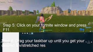 how to play stretched res fortnite pc season 9 - TH-Clip