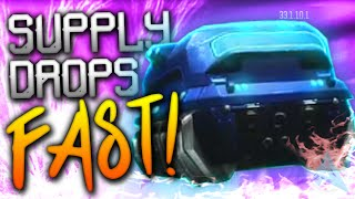 FAST SUPPLY DROPS in Black Ops 3! (How to Unlock