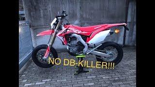 RIMOZIONE DB KILLER SU CRF 450!!! [EPIC SOUND]