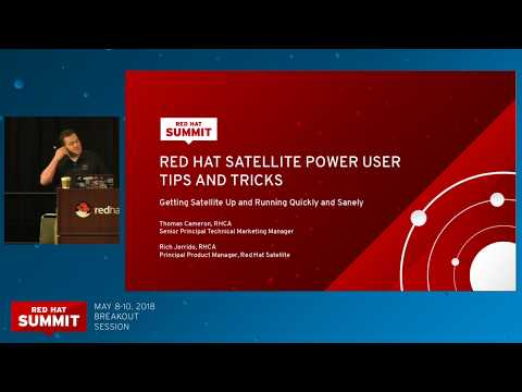 Red Hat Satellite 6 power user tips and tricks - YouTube