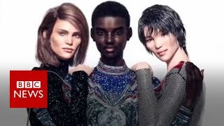 The supermodels that will never die - BBC News