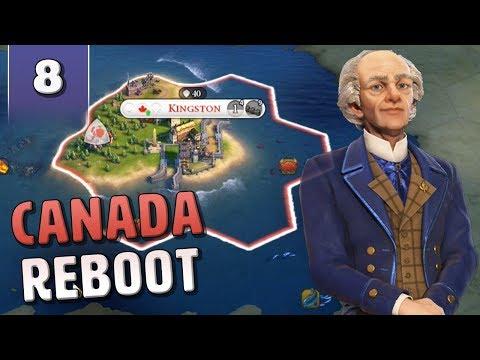 [8] Civilization 6 Canada Reboot - Civ 6 Gathering Storm with June Update
