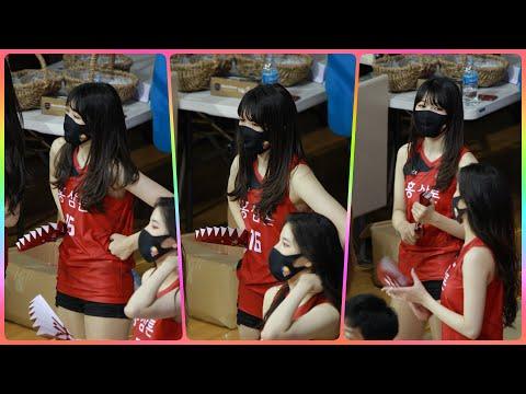 [4K] 치어리더 이푸른 직캠 (cheerleader) - 경기 응원영상 @남자농구경기/201115/Fanc…