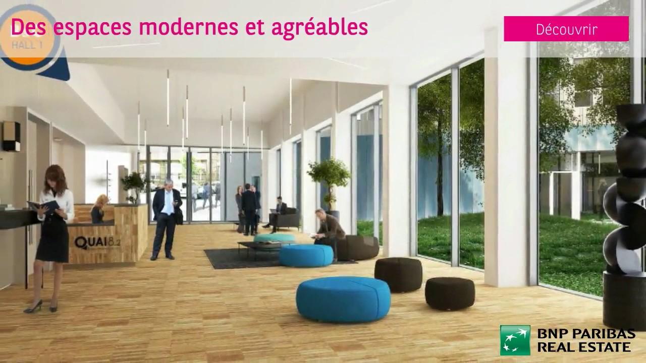 bureau 19 614 m louerquai 8 2 immeubles b c et e bordeaux location de bureau 15160104. Black Bedroom Furniture Sets. Home Design Ideas