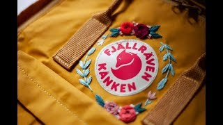 How To Embroider Your Kånken