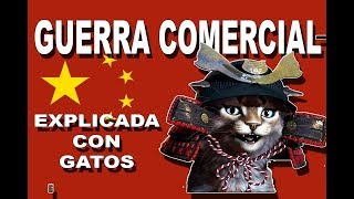 GUERRA COMERCIAL CHINA VS EEUU EXPLICADO CON GATOS