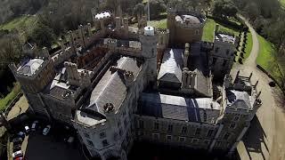 DJI Phantom 2 Flight near Belvoir Castle