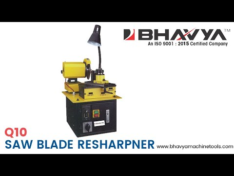Saw Blade Sharpner Machine Model Q10