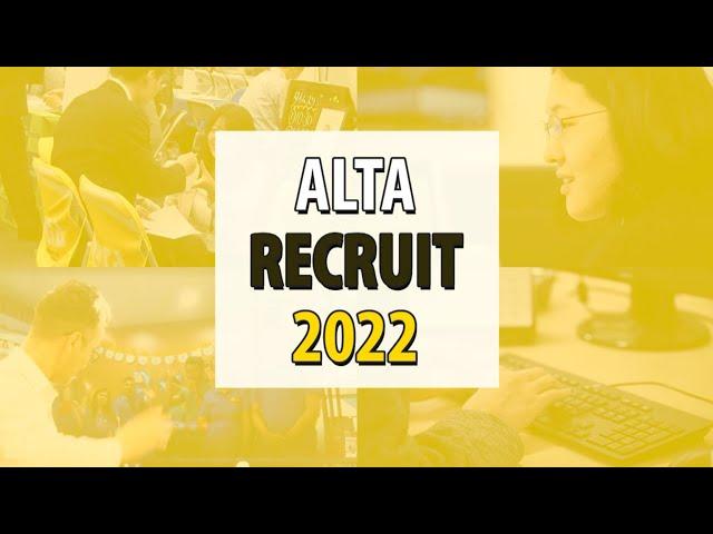 株式会社アルタ 2022新卒採用スペシャルムービー