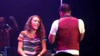 Jay Sean sings to a girl! (Joe Jonas Fast Life Tour) Chicago, IL 9/12