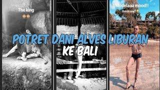 Potret Dani Alves Liburan ke Kebun Binatang Bali