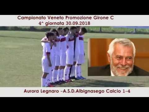 immagine di anteprima del video: Aurora Legnaro -Albignasego 1-4 (30.09.2018