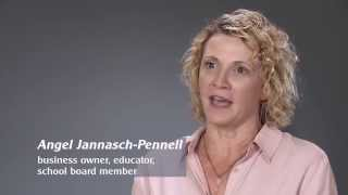 Angel Jannasch-Pennell is a friend to Terry Goddard