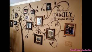 Tree Wall Decal With Picture Frames