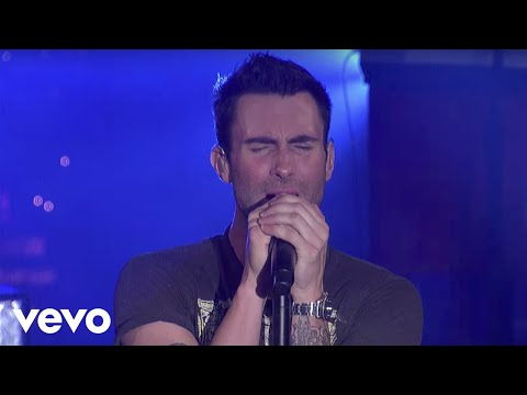 Maroon 5 Moves Like Jagger Live On Letterman