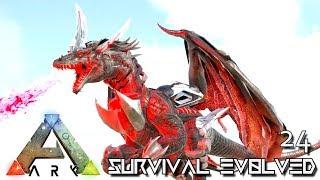 ARK: SURVIVAL EVOLVED - NIDHOGG GIANT TEK DRAGON TAMED !!! E24 (MOD ANNUNAKI PROMETHEUS RAGNAROK)