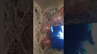 Вот так красиво украсили комнату на день рождения Ани 4 годика!!!