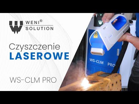 Lasery czyszczące Weni Solution CLM PRO - przyszłość czyszczenia powierzchniowego - zdjęcie