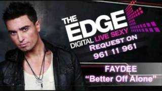 Faydee - Better Off Alone