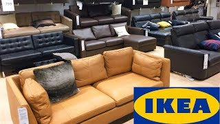 IKEA SOFAS COUCHES COFFEE TABLES FURNITURE HOME DECOR SHOP WITH ME SHOPPING STORE WALK THROUGH 4K
