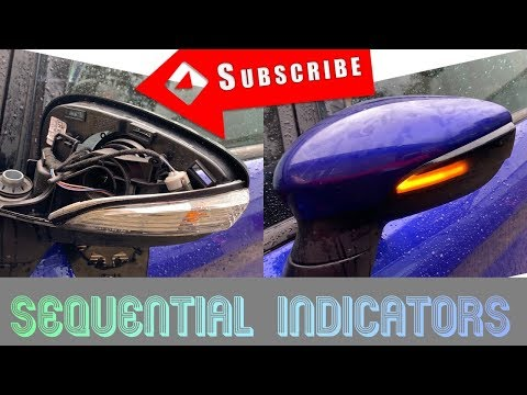 Sequential Indicator Install On The Fiesta ST!!!