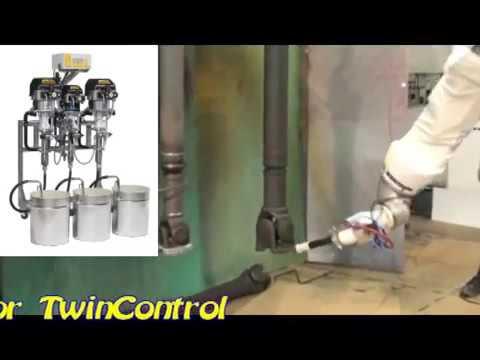 Wagner Elektrostatische Robotapplicatie