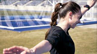 Ukrainian Olympic Hopeful - Valeriia Zinenko crushes VO2 Reps