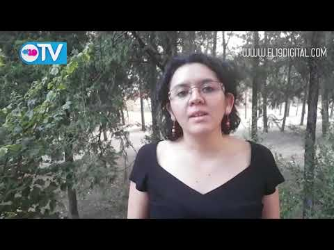 ACTIVISTA DEL PARTIDO COMUNISTA ESPAÑOL EN SOLIDARIDAD CON NICARAGUA