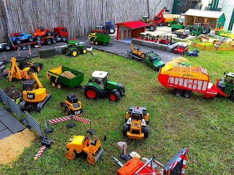 BRUDER TOYS Farm RC TRACTOR Village