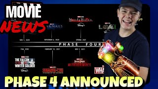 Phase 4 of the MCU ANNOUNCED! - Movie News