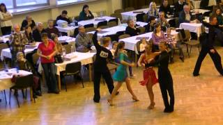 Paso doble 1.kolo Sumperk 2015