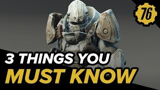 3 Things You Must Know Before Playing Fallout 76