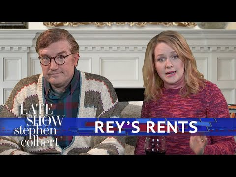 Late Show 'Star Wars' Exclusive: Rey's Parents