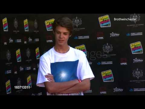 "Colin Ford at ""Stand Up For Skate Park"""