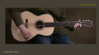 Martin 000-30 Authentic 1919 Review - One Man's Guitar - onemanz com